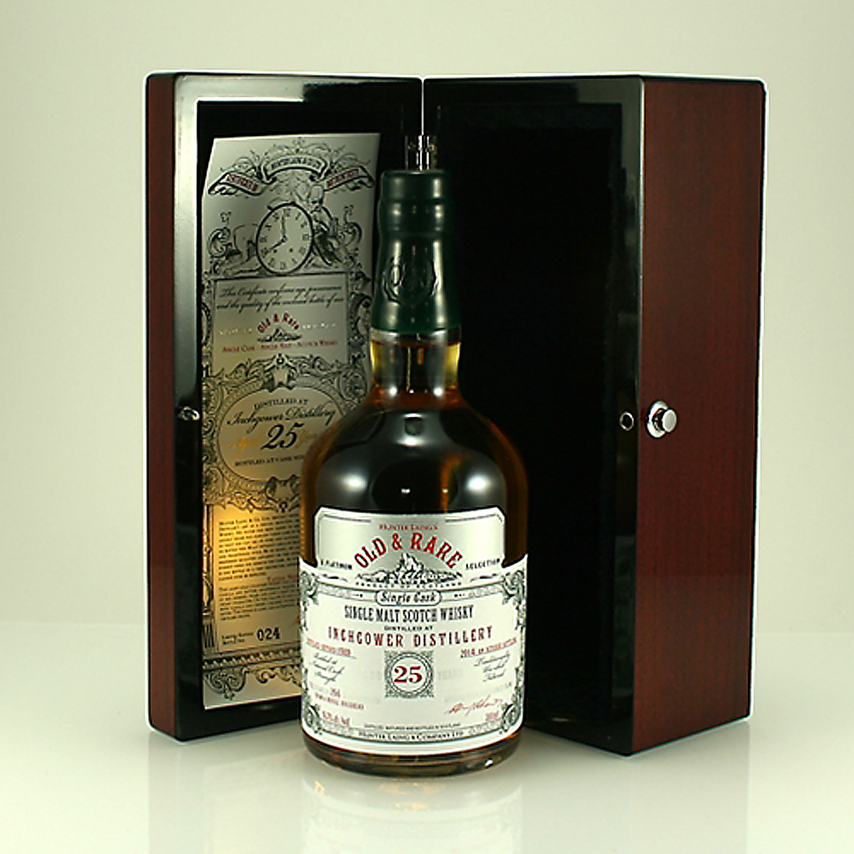 INCHGOWER 1989 25 Y/O Old & Rare 56.7% 70cl