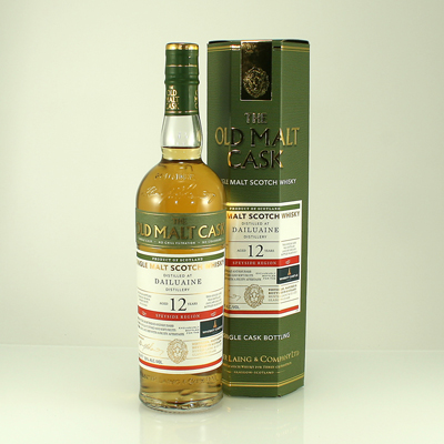 DAILUAINE 12 Y/O Whisky Castle Bottling 50% 70cl