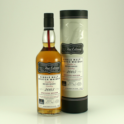 BENRINNES 12 Y/O Whisky Castle Bottling 57.2% 70cl