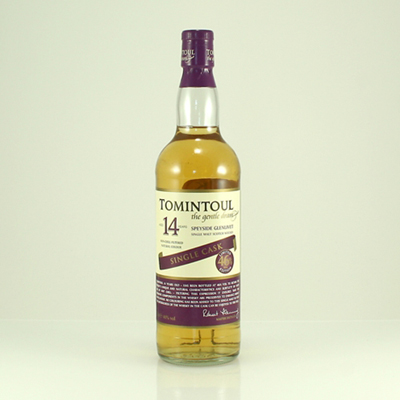 TOMINTOUL 14 Y/O Whisky Castle Bottling 46% 70cl
